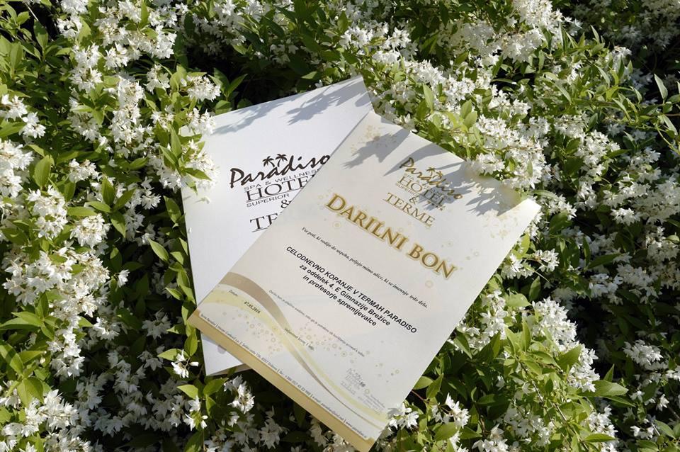 Nagrada ekonomski gimnaziji & Terme Paradiso