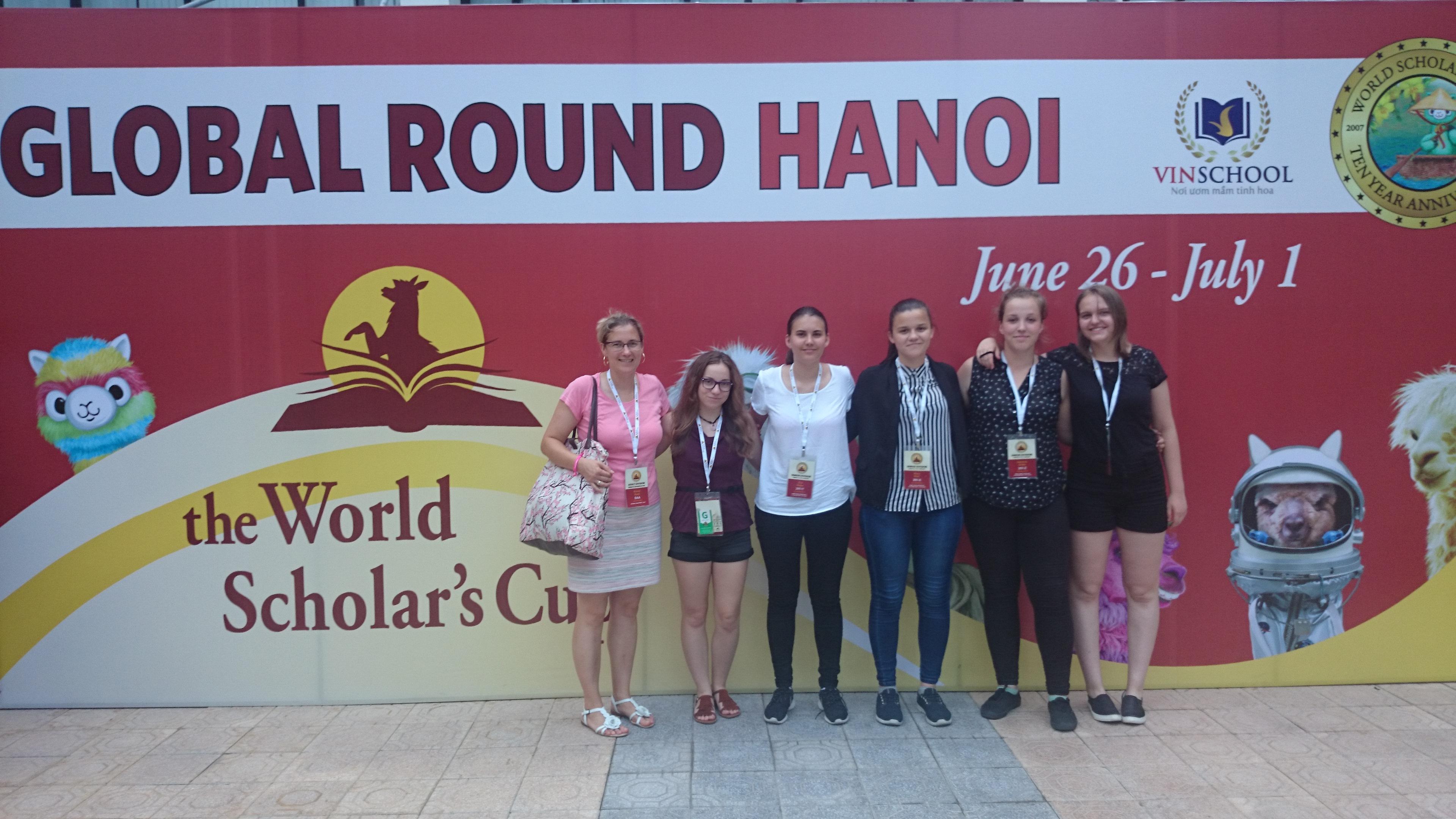 Brežiške gimnazijke ponovno uspešne v Vietnamu