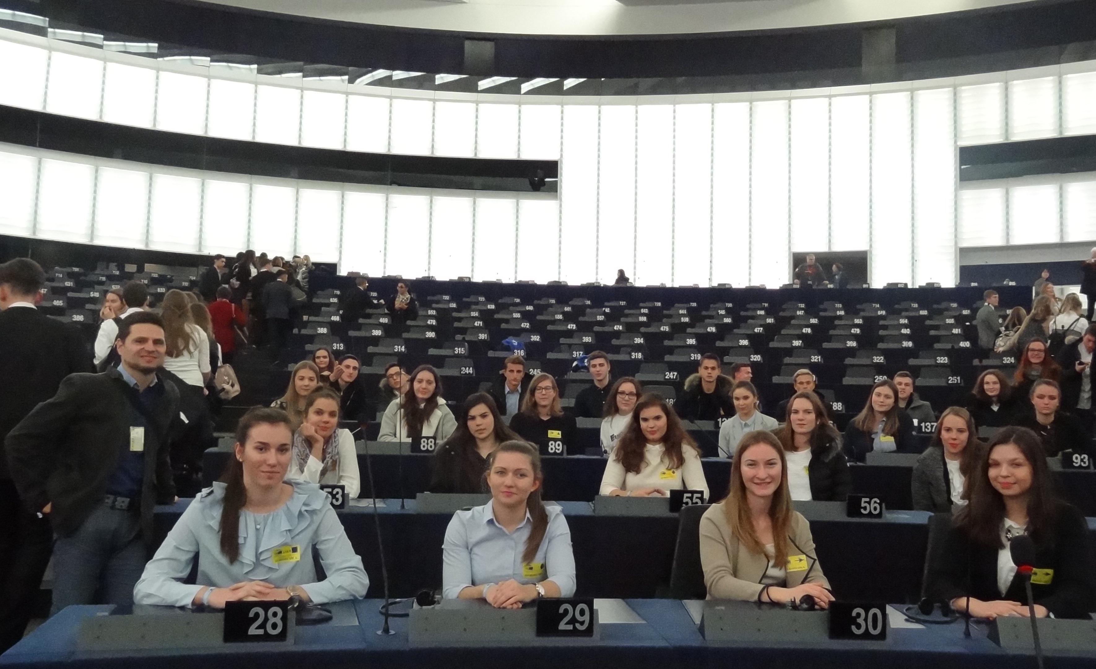 3. a v Evropskem parlamentu