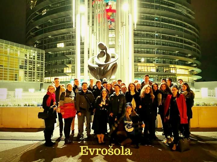 Nagradna ekskurzija v Strasbourg – EVROŠOLA